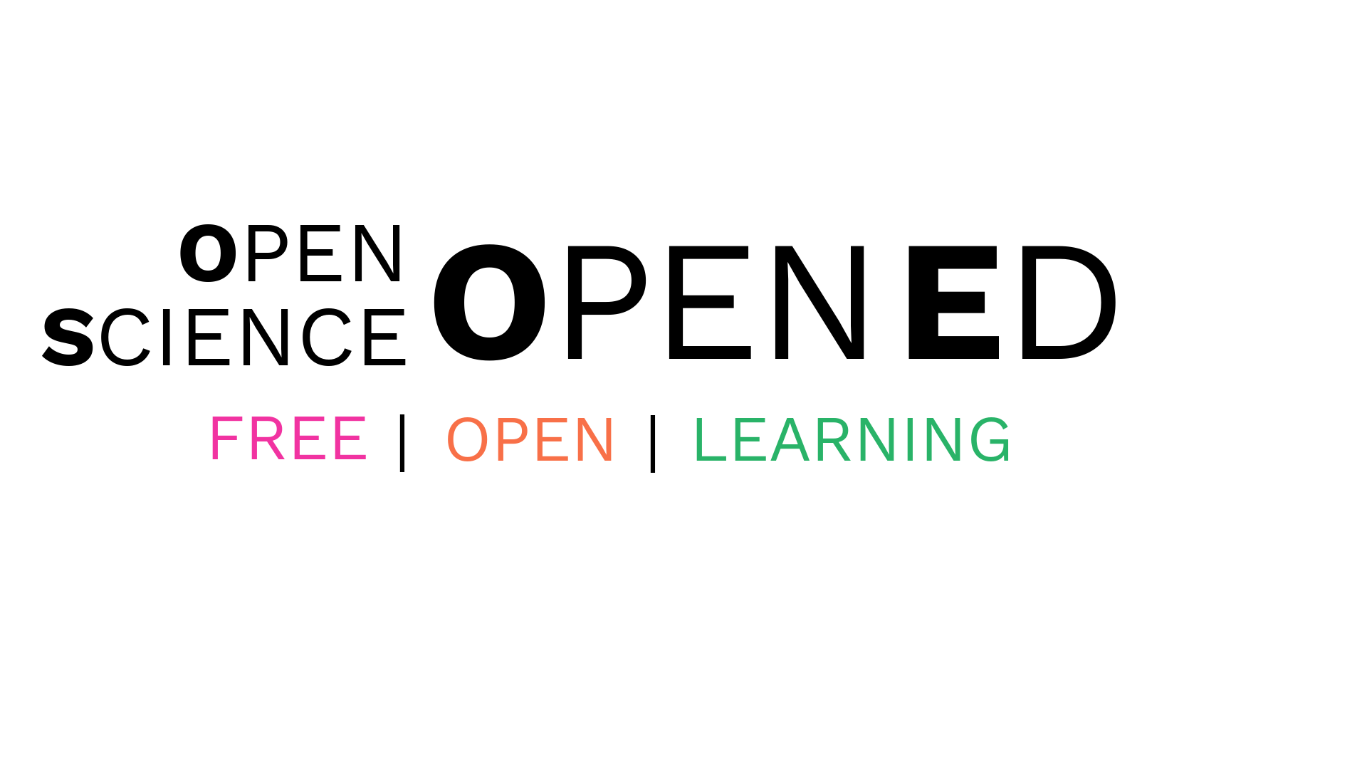 Open Science OpenEd - English